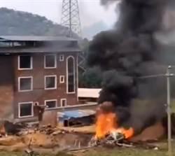 傳台灣擊落共軍蘇愷35戰機墜毀?綠委表態了