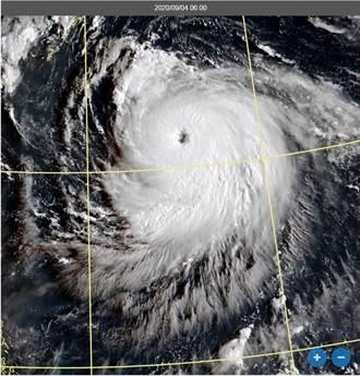 「海神」颱風眼超清晰 吳德榮:今有機會成強颱