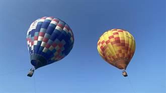 石岡熱氣球嘉年華台中首登場 盧秀燕搶先體驗大讚好玩
