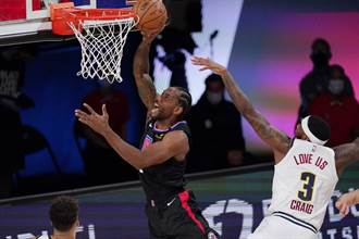 NBA》西區準決賽開打 快艇蹂躪金塊摘首勝
