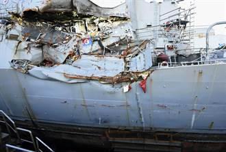 關鍵8分鐘 莫名其妙改航道 費茲傑羅號驅逐艦撞船錯在美海軍