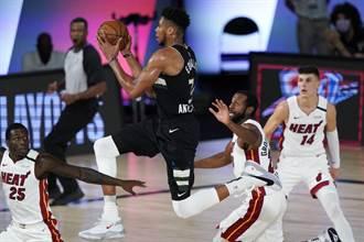 NBA》公鹿2連敗 格林建議字母哥撤出禁區