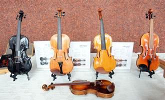 國產材製提琴 悠揚樂聲搭配滿滿山林香氣