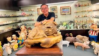 豬博物館收藏1萬2000多隻豬創紀錄 吳春山:生命中最可愛的豬隊友