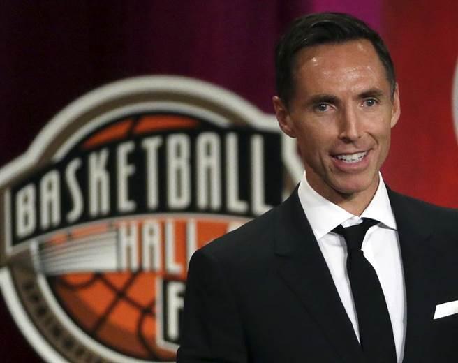 名人堂控衛納許成為籃網總教練。(美聯社資料照)
