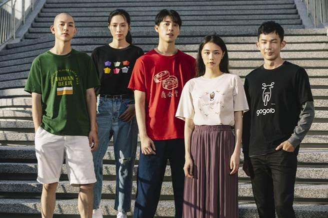 包括鼎泰豐等揚名國際的五大台灣品牌躍上UT系列/圖/UNIQLO提供