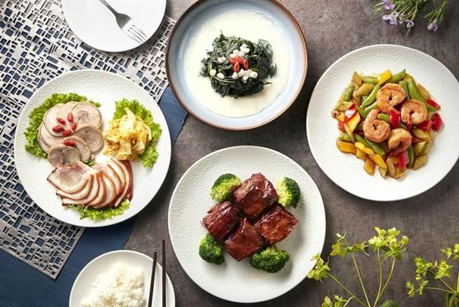 為擴大搶宅食經濟商機,台北喜來登推出「外帶分享餐」優惠活動。(圖/台北喜來登飯店提供)