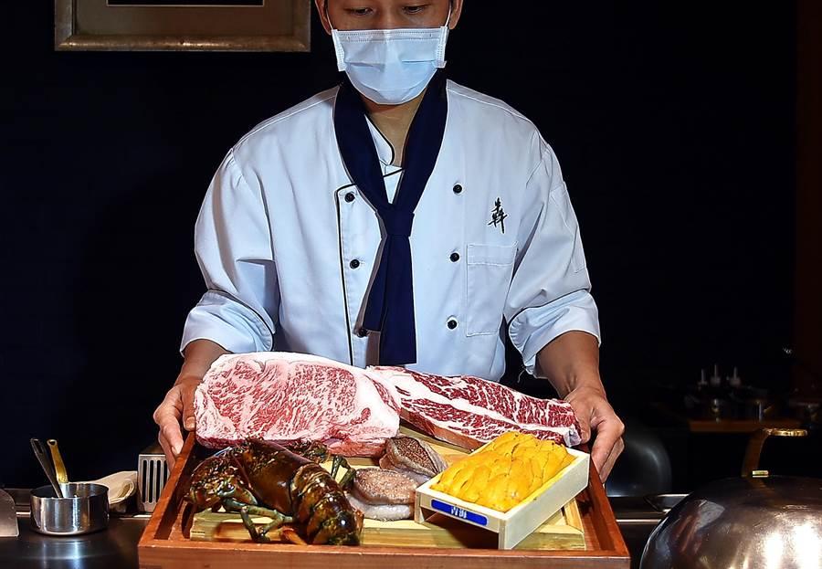 獨〉和牛、龍蝦活鮑都有了!犇和牛館一套餐12道菜憑啥只賣1380元 -