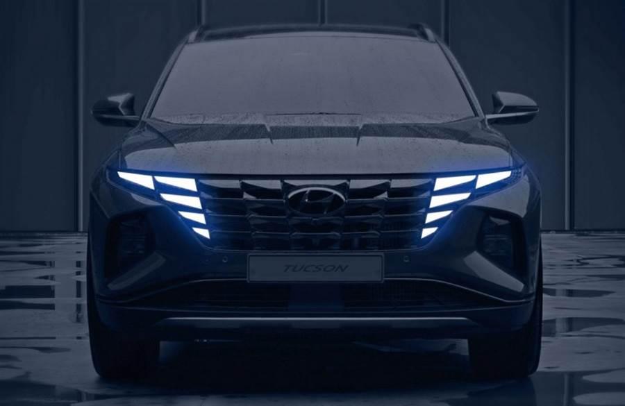 Parametric Dynamics 跑車化造型實踐於 SUV 身上,Hyundai 第四代 Tucson 9/15 首度亮相!