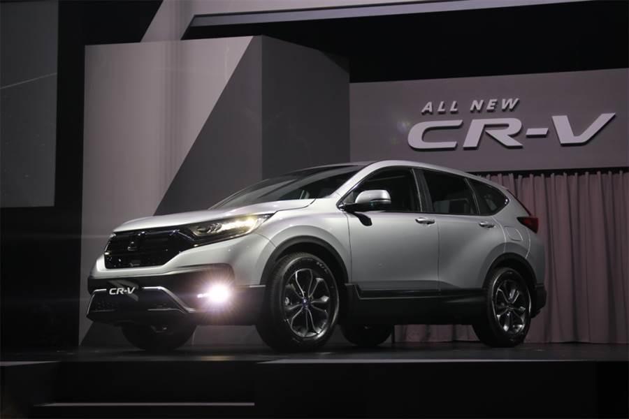Honda CR-V強敵環伺 小改款配備提升有望突破重圍
