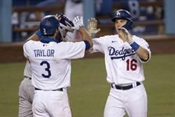 MLB》道奇隊5轟摧毀洛磯 率先30勝