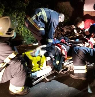 西班牙正妹夜騎恆春遇死劫 山路對撞貨車狠摔水溝身亡