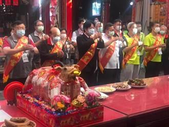 義民祭與賴清德同台 鄭文燦:我們感情好有默契