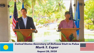 我友邦帛琉 邀美軍建基地及軍港