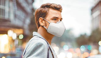 LG口罩型空氣清淨機 自動偵測呼吸