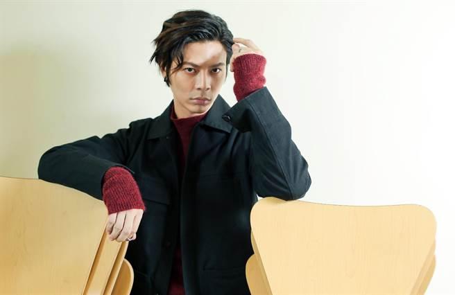 柯朋宇為新生代創作歌手,戲劇表現也頗亮眼。(陳俊吉攝)