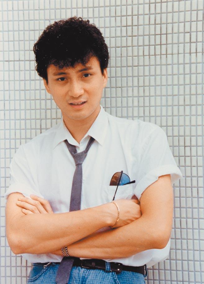 昔「TVB五虎將」湯鎮業,當時外表被譽為「帥過劉德華」。圖片提供:中時資料庫
