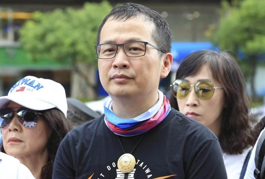國民黨革實院長羅智強表態參選2022台北市長,黨內支持度雖輸蔣萬安30%,他仍正面看待。(圖/摘自羅智強臉書)