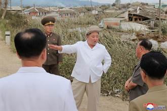 金正恩再露面 視察颱風災區