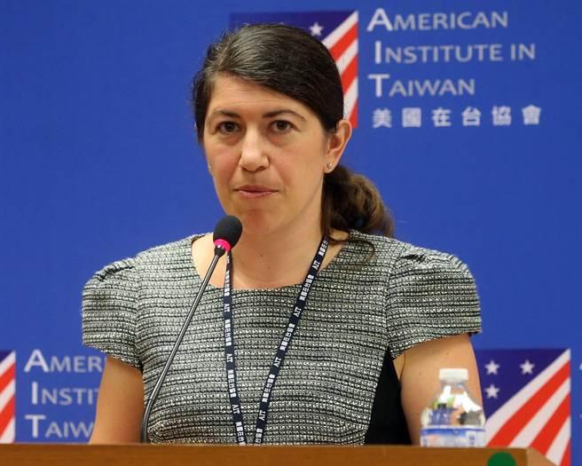 美國在台協會發言人孟雨荷。(資料照,趙雙傑攝)