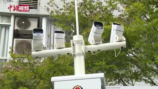 為監控大樓上往樓下拋物傷人事件,大陸研發出高空拋智慧監控系統做為刑事調查依據,首座系統於此類事件最多的重慶市啟用。(圖/中新視頻截圖)