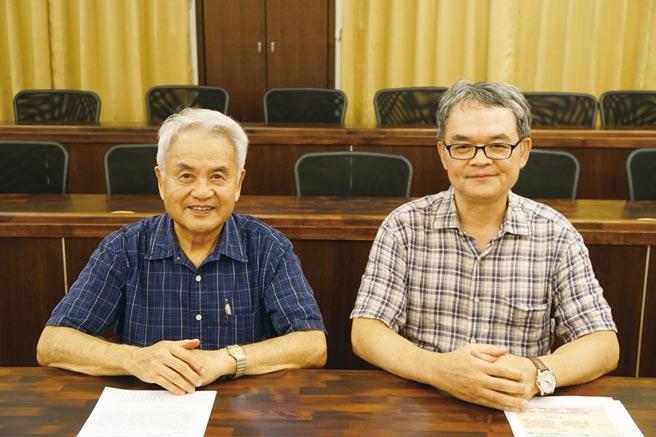 左起為中央研究院吳金洌客座講座、國立臺灣大學生農學院盧虎生院長。圖/農業生技分析與促進辦公室提供
