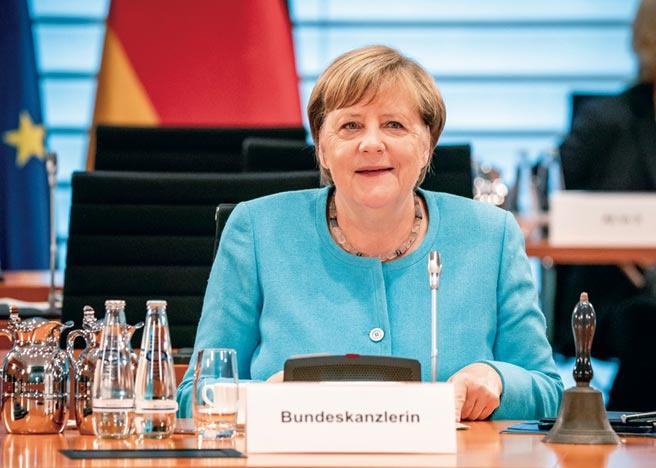 德國總理梅克爾圖╱美聯社