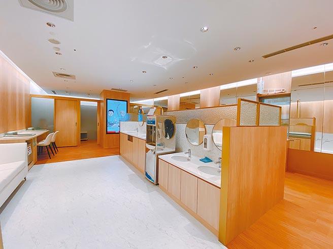 SOGO百貨五星級哺乳室。(SOGO提供)