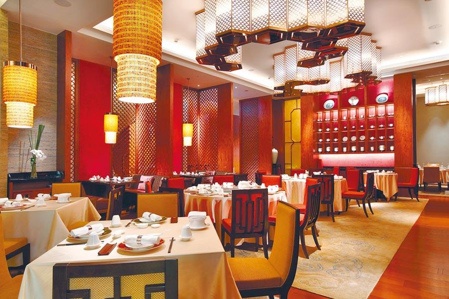 大倉久和大飯店「桃花林中華料理」連3年勇奪米其林餐盤推薦,很受饕客歡迎。(大倉久和大飯店提供)
