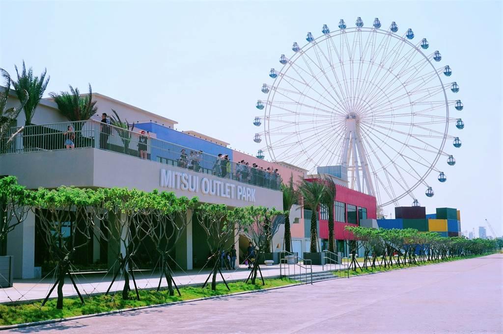 台中港三井OUTLET PARK將加碼興建2期商場。(葉思含攝)