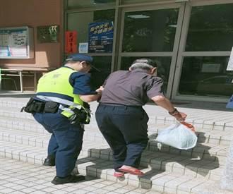 員警視民如親 認出迷途老翁助返家