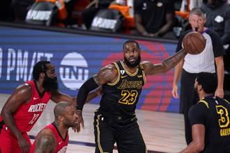 NBA》皇眉合轟62分 湖人射落火箭扳平