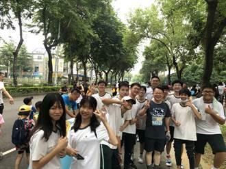 反毒路跑活動 僑泰300師生主動投入志工服務