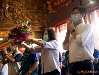 蔡英文:讓高雄成為台灣下個世代發展的重鎮