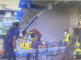 修電梯突然一聲慘叫 工人莫名倒地急救中