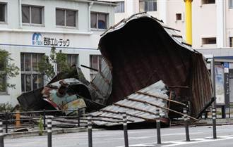 海神颱風襲九州 逾50傷、880萬人緊急疏散