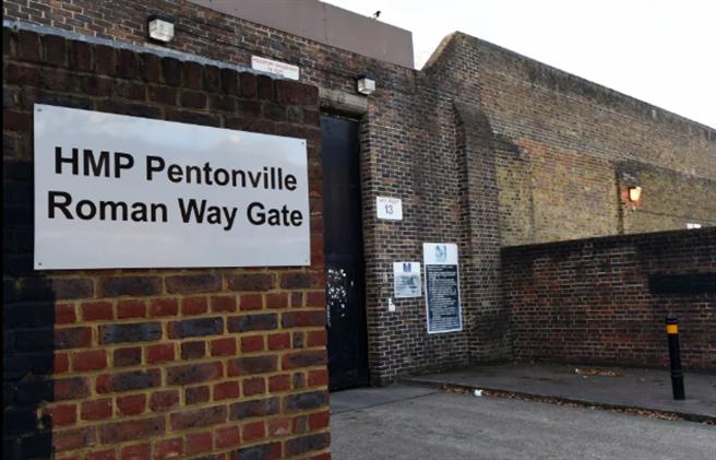 英國的本頓維爾監獄發生女獄警與犯人牢中嘿咻的離奇事件。(The Sun News翻攝)