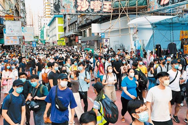 香港民眾不滿立法會延選,網路發動6日上街遊行,路線包括旺角、油麻地及佐敦等一帶。(路透)