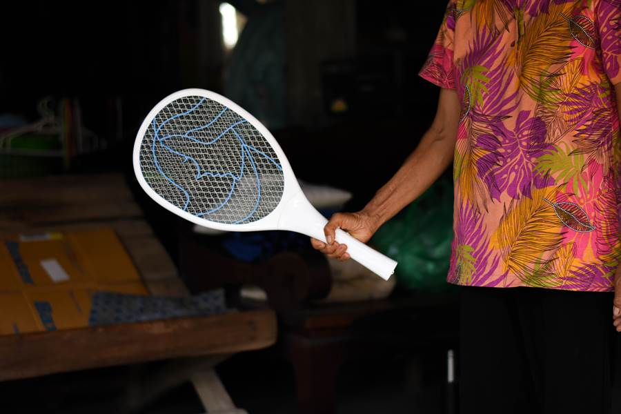 蒼蠅嗡嗡狂飛老翁暴怒 拿電蚊拍追打下秒房子炸了(示意圖/達志影像)