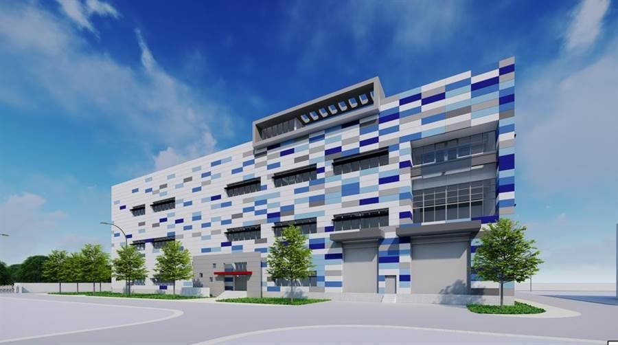 安平再生水廠模擬圖。(台南市水利局提供/曹婷婷台南傳真)