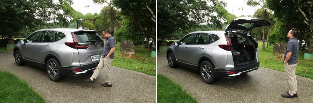 頂規的S版新增感應式電動尾門,用車生活更顯從容愜意。