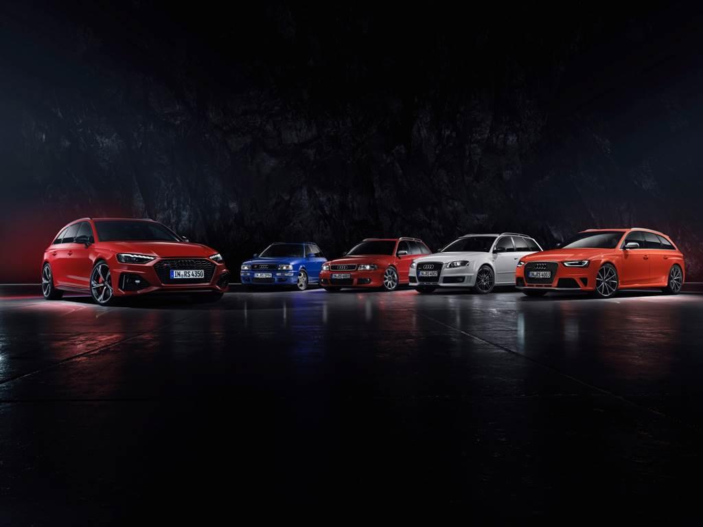 RS 4 Avant歷經25年演進,在近四年缺席國內市場後,今年以B9世代強勢回歸國內性能車壇。