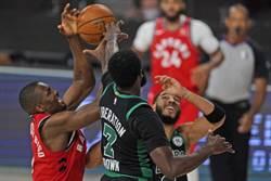 NBA》塞爾提克火力全開 大贏暴龍22分聽牌了