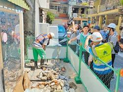 汙水工程廢棄物 磚石無處去