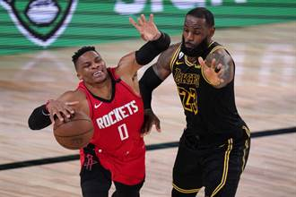 NBA》詹皇扳平火箭 意外被反詹球評稱讚