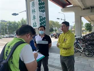搭火車接軌綠色公共運具 中市議員爭取iBike站拓點