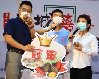 盧秀燕、江啟臣料理香菇赤肉羹 宣布吳鎮安封菇王