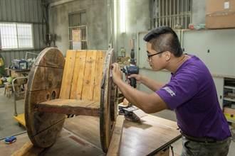 老木頭新生命  台電與金門林務所搞創新