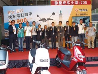能海電能EV-50快充電動機車 上市