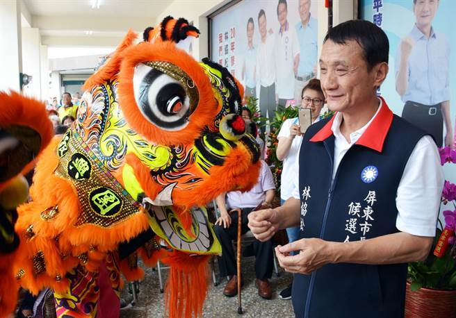 屏東市長林恊松擔任市代會主席期間,疑非法採購禮品遭起訴。(本報資料照片)